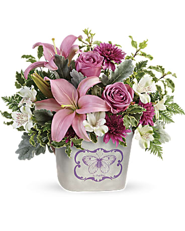 Fern And Lavender Bouquet